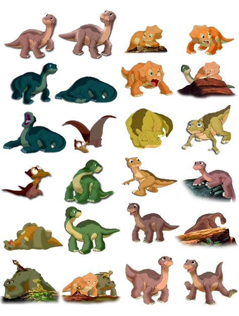 a before time the gallery for gt land before time coloring pages