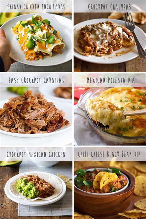 favorite mexican crockpot recipes pinch of yum