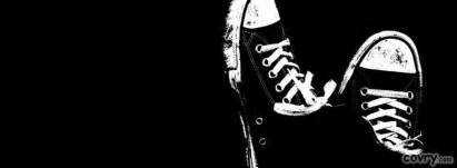 sneakers black and white cover covry