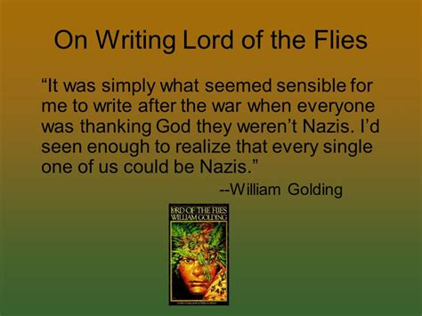 lord of the flies theme man vs nature the lord of the flies by william golding ppt download