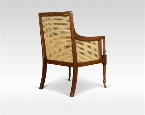 Bergere Armchair by Regency Oak Bergere Armchair Antiques Atlas