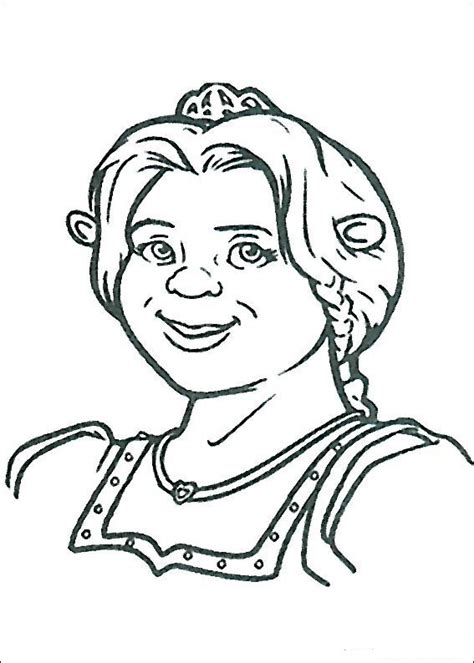 Drawings From The Movie Shrek Coloring Child Coloring Shrek Coloring Pages