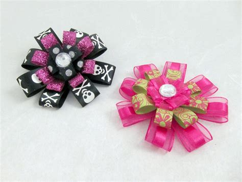 Handmade Hair Bows For Sale - hair bows on etsy