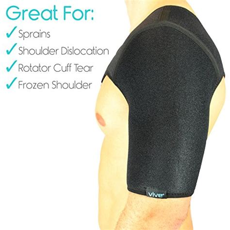 Shoulder Support Compression Top L S Embio Lp 230 Z shoulder brace by vive rotator cuff support for injury prevention dislocated ac joint labrum