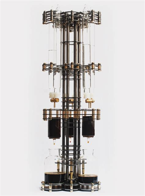 architecture maker lab reveals architectural steunk cold drip coffee