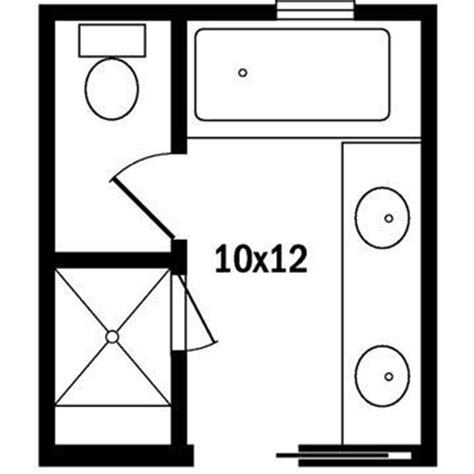 10x12 kitchen floor plans 17 best ideas about small bathroom floor plans on