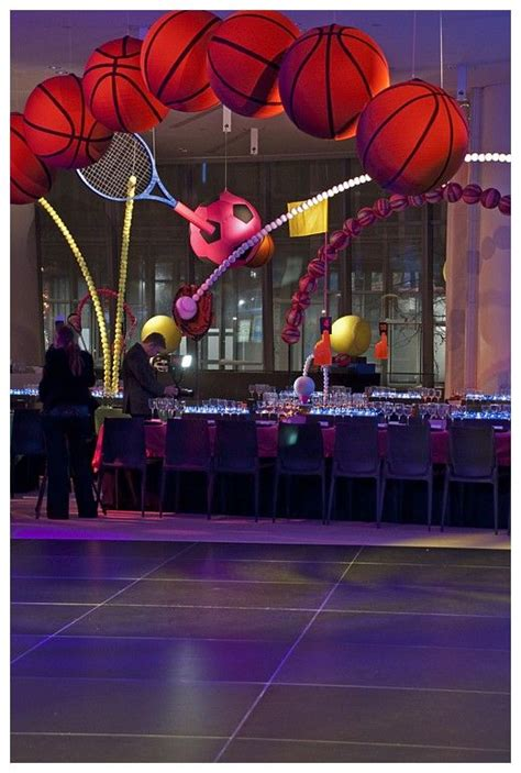 basketball themed events pin by party favorites on bar mitzvah decor pinterest