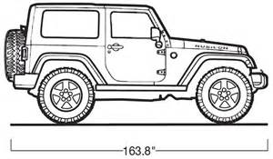 How To Draw A Army Jeep Jeep Wrangler Official Drawing Recherche