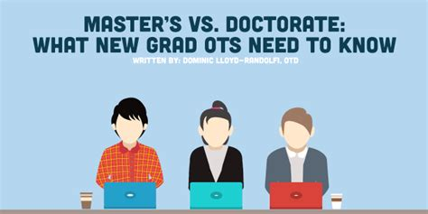 Mba Vs Mba Mph by Master S Vs Doctorate What New Grad Ots Need To