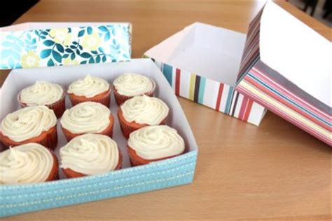 How To Make Cupcake Boxes Out Of Paper - diy cupcake delivery box all things cupcake