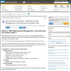 sap geocoding tutorial information steward user manual