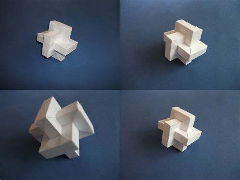 Twisted Origami - origami twisted cube by sheggie91 on deviantart