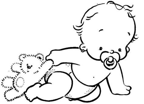 imagenes bonitas de bebes para dibujar dibujo de un bebe recien nacido a colores y bonitas
