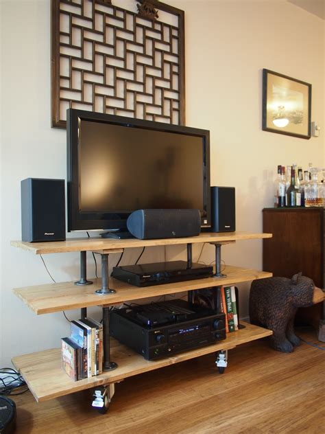 tv stand ideas diy tv stand my very own design and construction