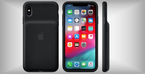 smart battery anche per iphone xr e xs batteria integrata e ricarica wireless dday it