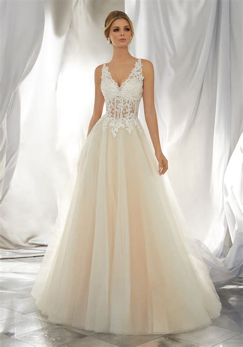 Wedding Dress by Myrcella Wedding Dress Style 6864 Morilee