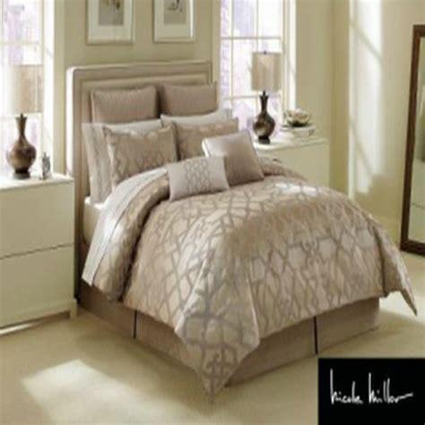 nicole miller bed sets nicole miller gate oversize king 4 piece comforter bed in