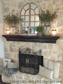 Decor For Fireplace by 25 Best Ideas About Fireplace Mantel Decorations On