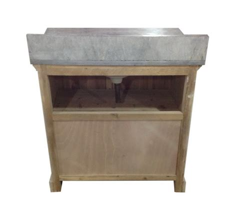 Recycled Bathroom Vanities by Infurniture Solid Recycled Fir 36 Quot Traditional Single Sink