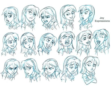 Drawing Expressions by Expressions Model Sheet For Sb By Tombancroft On