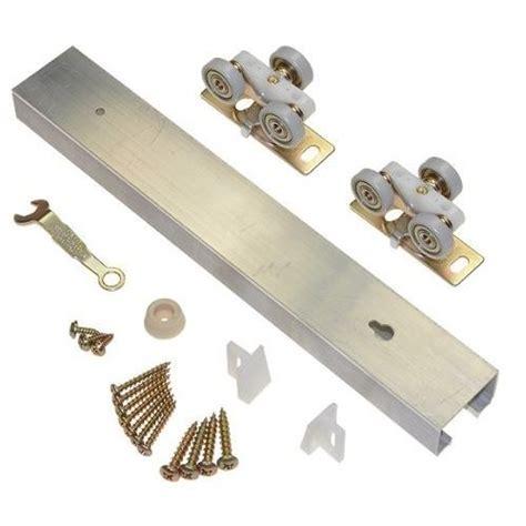Pocket Door Hardware Kit by Le Johnson Aluminum 72 Quot Track Single Pocket Door