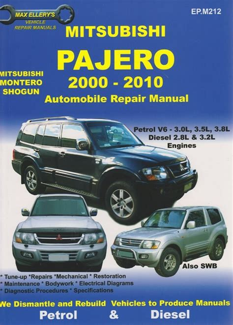 repair voice data communications 1995 mitsubishi truck electronic toll collection service manual 1991 1999 mitsubishi pajero factory mitsubishi pajero wagon 1991 1999