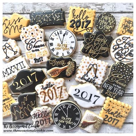 new year cookies decoration 177 best new year cookies images on decorated