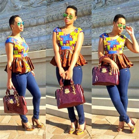 big gals rock ankara buba pix adoring ways to rock your ankara peplum top davina diaries