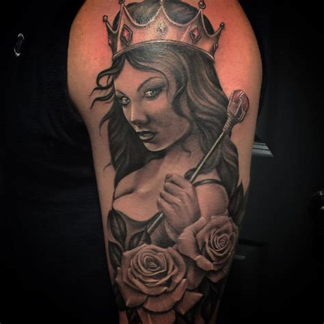 queen tattoo photo tattoo queen best tattoo ideas gallery