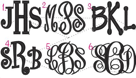 design font style download create your own monogram initials free joy studio design