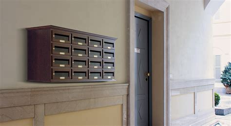cassette per posta condominiali cassette postali in legno cassette postali e casellari