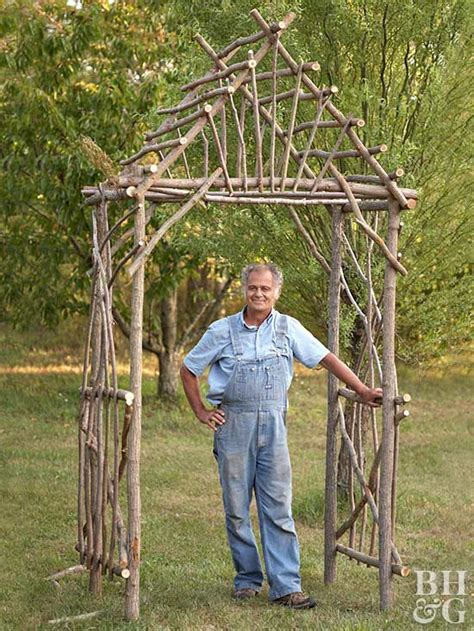 building an arbor trellis make your own willow arbor