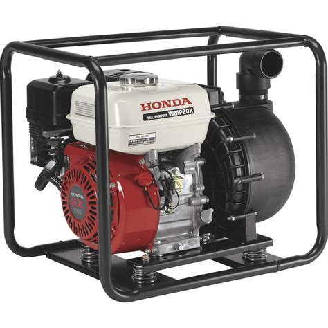 Gasoline Engine Waterpump Ewp 20 honda self priming chemical water 13 200 gph 2in ports 160cc honda gx160 engine model