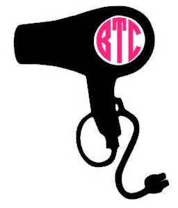 Hair Dryer Sticker Removal hair dryer decal 183 pink elephant boutique 183 store powered by storenvy