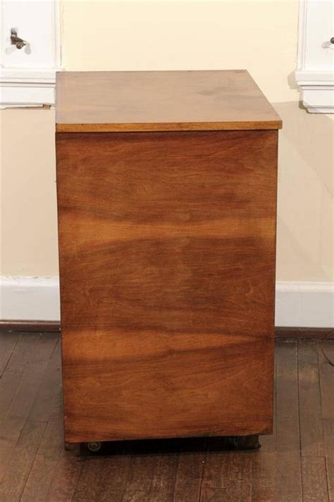 Rolling Bar Cabinet Deco Rosewood Rolling Bar Cabinet For Sale At 1stdibs