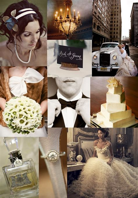 winter wedding in the city inspiration board