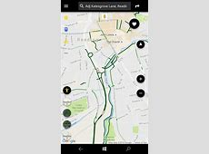 Google Maps on Windows 10 Mobile - though not Navigation? Earth Google Maps Satellite