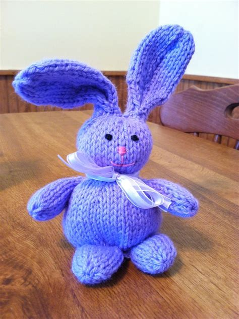 knitting pattern easter bunny knit easter bunny knitting pinterest