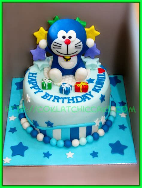Baju Doraemon Cake Doraemon Niken I Dh Flickr