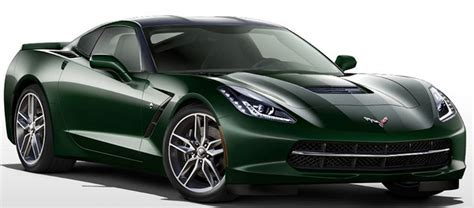 corvette stingray green here are the ten official colors of the 2014 corvette