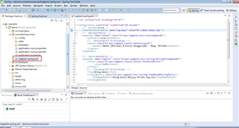 logback xml spring boot 自定义logback日志配置文件 csdn博客