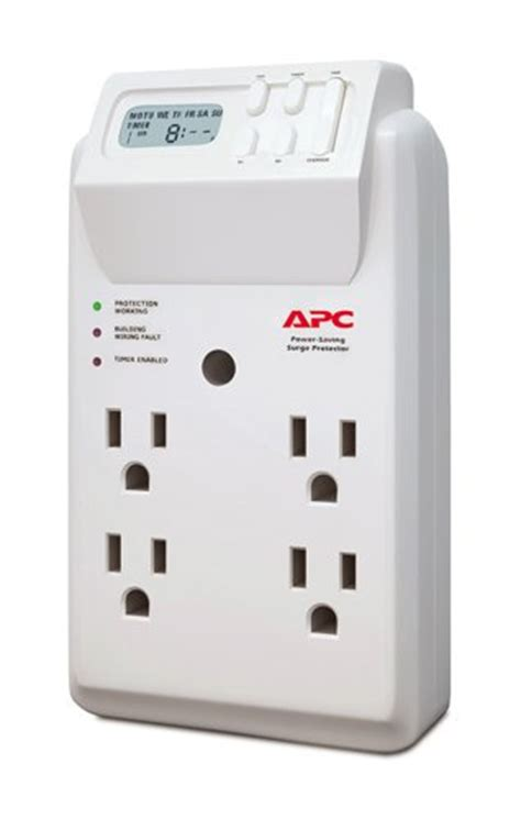 Power Bank Joule Surge apc 4 outlet wall surge protector 1020 joules with import it all