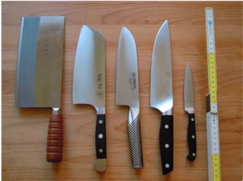 kitchen knives types 11 different types of kitchen knives and their uses for