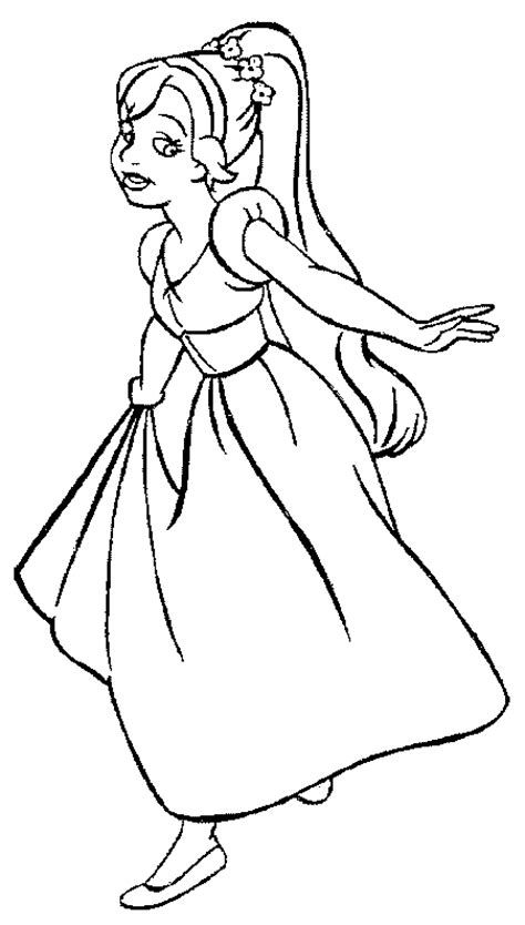 thumbelina coloring pages coloring pages for kids