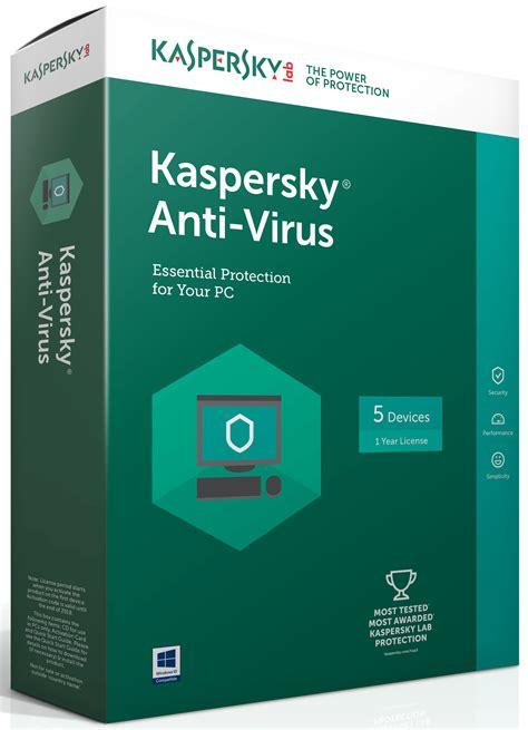 Antivirus Kaspersky kaspersky anti virus 2017 5 devices 1 year