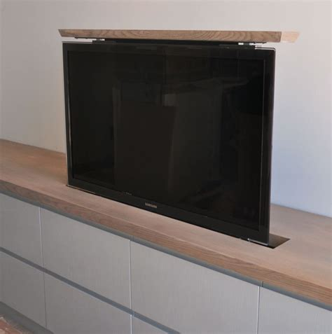 best tv lift cabinet tv lift for your cabinet our fixed lid tv lift where the