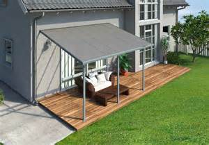 Polycarbonate Patio by Palram Feria 10x14 Patio Cover Gray Free Shipping