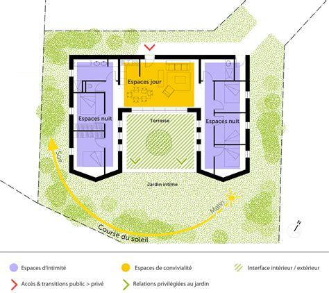 Plan De Maison Plain Pied 2 Chambres 3338 by Plan Maison Plain Pied Avec 5 Chambres Ooreka