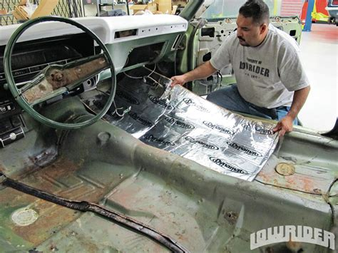 Dyno Mat by Dynamat Xtreme Sound Deadening Material Lowrider Magazine