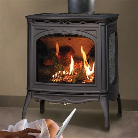 Soapstone Stove Hearthstone Tucson 8702 Soapstone Direct Vent Gas Stove At